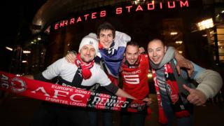 Rennes fans