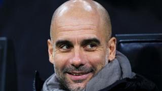 Manchester City boss Pep Guardiola