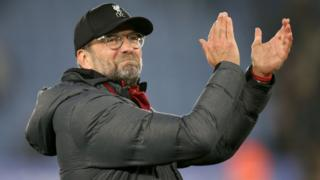 Jurgen Klopp celebrating