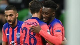 Hudson-Odoi gives Chelsea lead