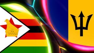 Zimbabwe and Barbados