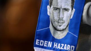 An Eden Hazard scarf