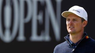 Justin Rose in round three