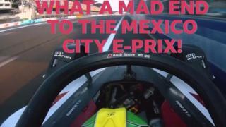 Lucas di Grassi wins the Mexico City E-Prix