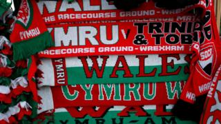 Scarves at Racecourse Ground