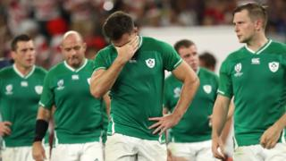 Ireland's frustration shows at the final whistle