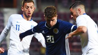 Scotland U21s v Greece U21s