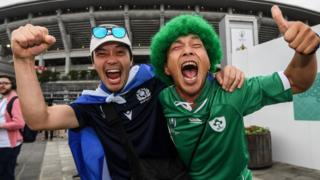 Scotland and Ireland supporter