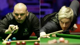Stuart Bingham and Neil Robertson