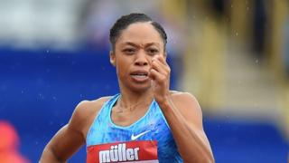 Allyson Felix of USA