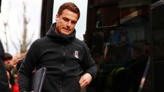Fulham's caretaker manager Scott Parker