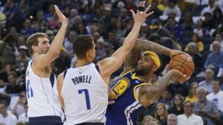 Golden State Warriors lose to Dallas Mavericks