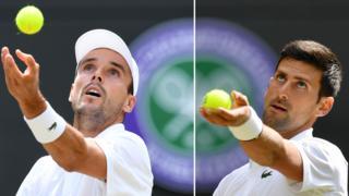 Wimbledon semi-finalists