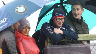 Rain has delayed the North West 200 races