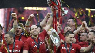 Wales lift six nations trophy