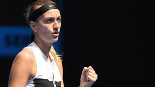 Petra Kvitova wins in Dubai