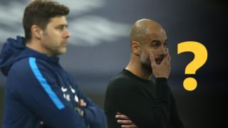 Mauricio Pochettino and Pep Guardiola