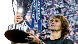 Alexander Zverev wins the ATP Finals in 2018