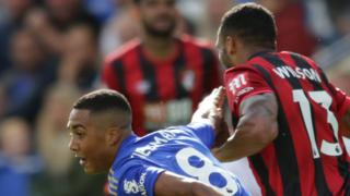 Youri Tielemans and Callum Wilson