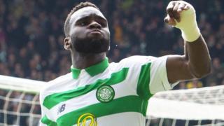 Odsonne Edouard celebrates