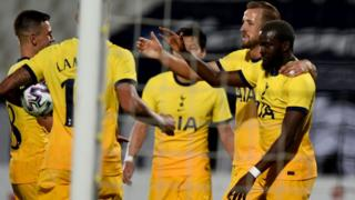 Tottenham beat Lokomotiv Plovdiv