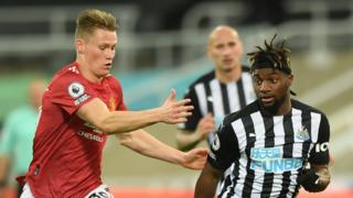 Scott McTominay and Allan Saint Maximin