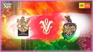 Royal Challengers Bangalore v Kolkata Knight Riders graphic