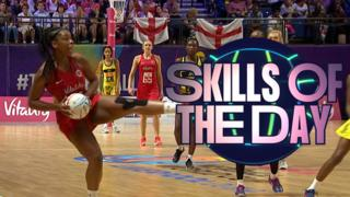 Day four Skills of the Day - Netball World Cup