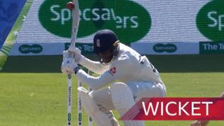 Jofra Archer wicket