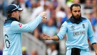 Eoin Morgan and Adil Rashid