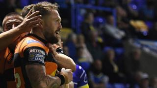 Jordan Rankin celebrates try