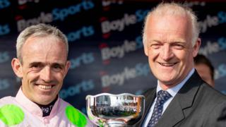 Jockey Ruby Walsh and trainer Willie Mullins