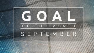 Goal of the Month September