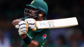 Pakistan batsman Babar Azam