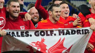 Wales. Golf. Madrid. In that order