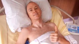 Chris Froome in hospital