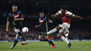 Arsenal v Napoli