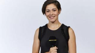 Women's Football Show presenter Eilidh Barbour