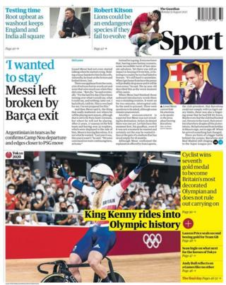 The Guardian on Monday
