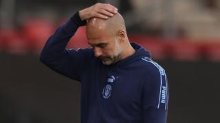 Manchester Coty boss Pep Guardiola