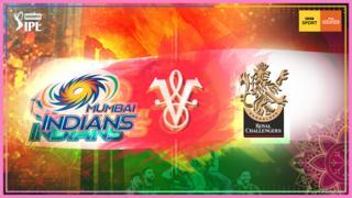 Mumbai Indians v Royal Challengers Bangalore