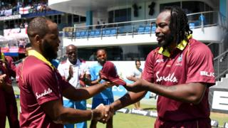 John Campbell and Chris Gayle