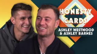 Ashley Westwood and Ashley Barnes