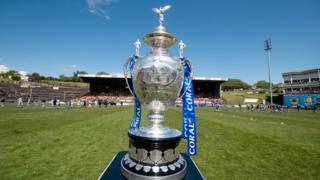 Challenge Cup trophy