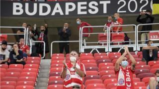 Fans at Super Cup