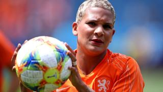 Shanice Van De Sanden of the Netherlands