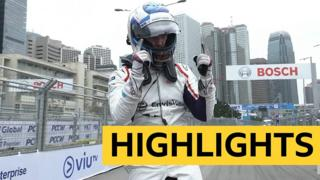 GB's Sam Bird wins dramatic Hong Kong E-Prix