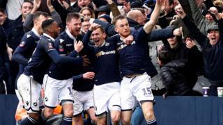 Millwall score