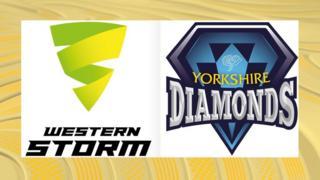 Western Storm v Yorkshire Diamonds