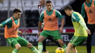Celtic warm up